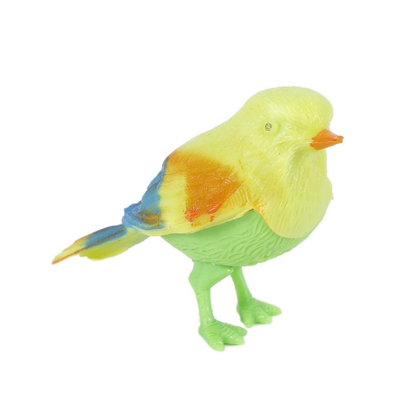 Voice Control Music Bird Plastic Sound Voice Control Activate Chirping Singing Bird Funny Toys Gift For Children Kid 1pcs/lot