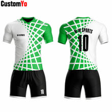 Best Quality Red And Black Football Jersey Full Sublimation Football Wear(China)