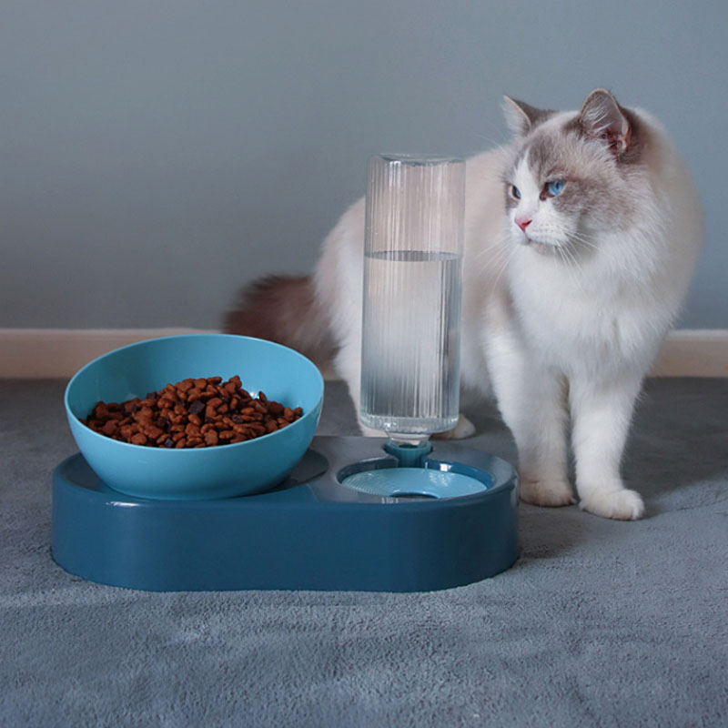 New Style Dog Automatic Feeding Water Feeder One-piece-in-Cat Food Drinking  - buy at the price of $27.00 in aliexpress.com   imall.com