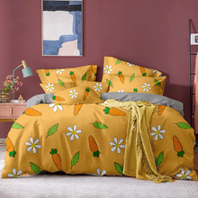 Printed Solid Bedding Sets Home Duvet Cover 220X240 260X240 High Quality Lovely Cute Pattern with Star Tree Flower Bed Linen