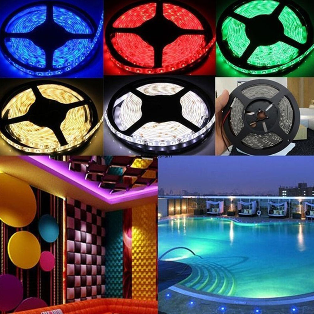 12V 5M 300 2835 SMD Waterproof LED Strip Light Party Weddinf Christmas Accessories LED Strip For Home Decoration