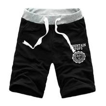 Мужские брюки, мужские шорты Карго, повседневные Летние Гавайские Пляжные штаны, спортивные бегуны, простые полубрюки