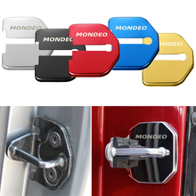 Авто-Стайлинг Защита для дверного замка чехол Авто эмблемы чехол для Ford аксессуары для Mondeo