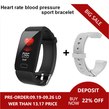 Smart Watch Blood Pressure Measurement Q1 Fitness Bracelet Waterproof Sport Cicret Bracelet For Men Women Activity Tracker