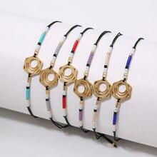 Rttooas браслет с подвеской и геометрическим дизайном для женщин