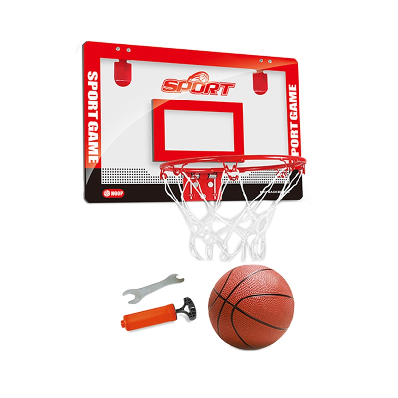 Transparent Wall Hanging Indoor Mini Basketball Board Children Basketball Game Easy to Hang Small Basket for Kids