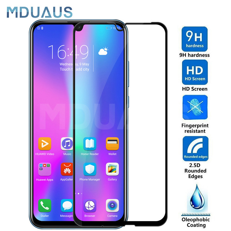 9D Tempered Glass On The For Huawei Honor 10 9 8 Lite Screen Protector For Honor 20 V20 V10 V9 Play Protective Glass Film Case