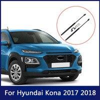 Für Hyundai Kona 2017 2018 2 stücke Haube Dämpfer Strut Unterstützung Stange Hydraulische Haube Auto Zubehör      -