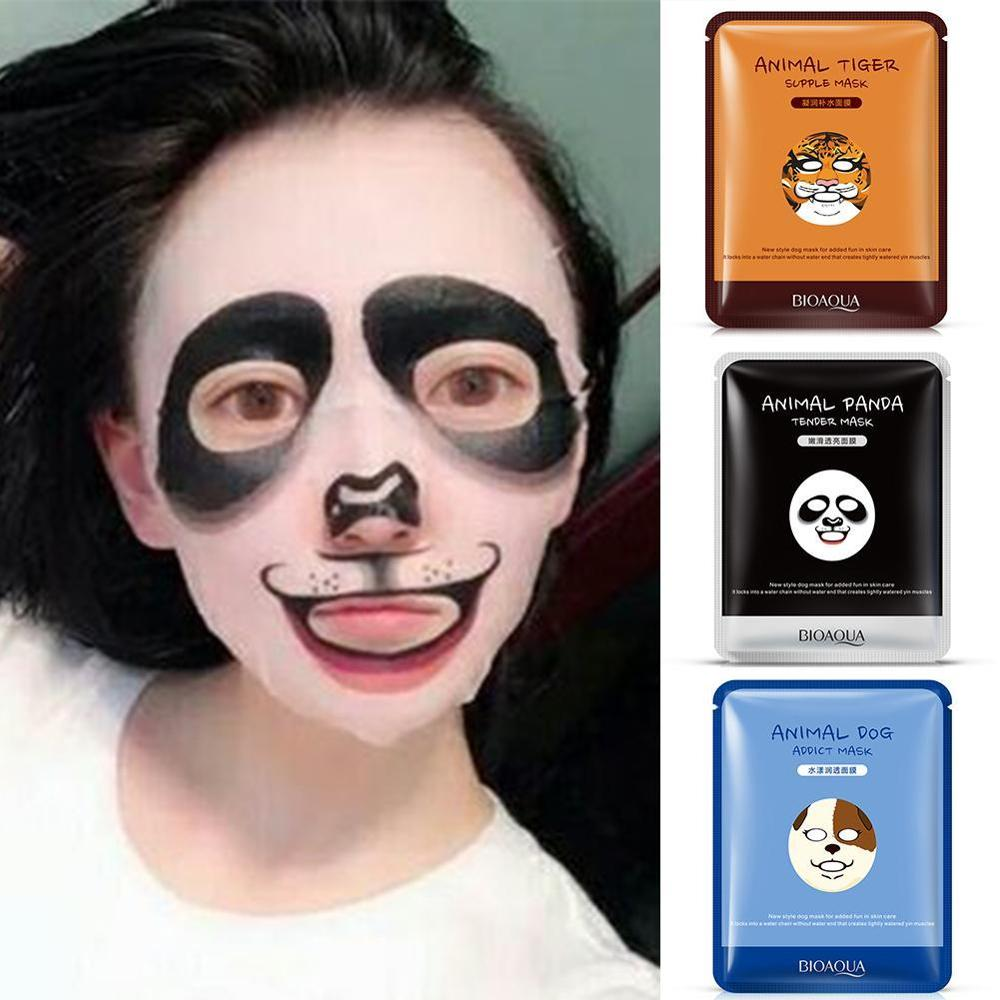 Facial Mask Moisturizing Collagen Cute Animal Face Masks Skin Care