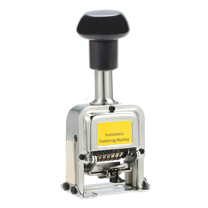 Number Machine 7 Position Automatic Numbering Machine Into The Number Coding Page Chapter Marking Machine Digital Stamp