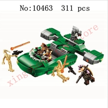 DIY Star Wars Series Battle Accelerator Blocks Brick Set Compatible with legoinglys Model Childrens Toys Gifts
