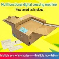V350 digital creasing machine compact line binding business card greeting card indentation tool