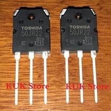 Real 100% Original NEW 50JR22 GT50JR22 600V 50A IGBT TO-3PN 10PCS/LOT 2mbi100l 060 module igbt 600v 100a