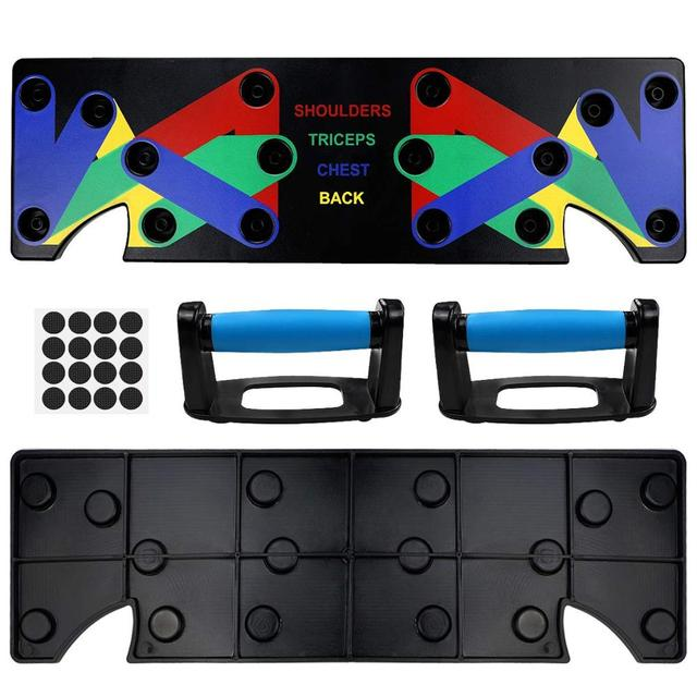 9 in 1 Push Up Rack Training Board ABS abdominal Muscle Trainer  Fitness Equipment 2