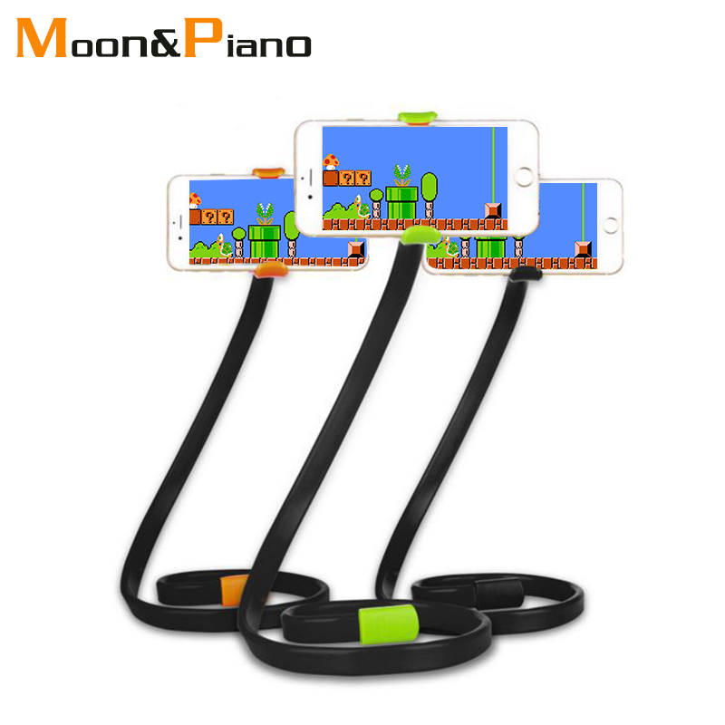 New Universal Flexible Holder Arm Lazy Mobile Phone Lazy Bracket Stents Flexible Bed Desk Table Clip Bracket For Cell Phone