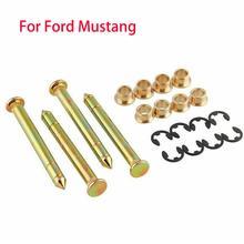 Авто петля двери автомобиля штифты Втулка набор для Ford Mustang грузовик внедорожник двери автомобиля ремонтный инструмент
