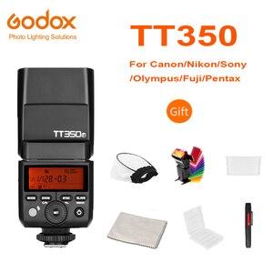 Image 1 - を Godox ミニスピードライト TT350C TT350N TT350S TT350F TT350O TT350P Ttl キヤノンニコン、ソニー、富士、オリンパス、ペンタックス HSSGN36