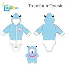 Трансформированные взрослые комбинезоны пижамы Симпатичные ABDL женские пижамы с коротким рукавом повседневные хлопковые ползунки