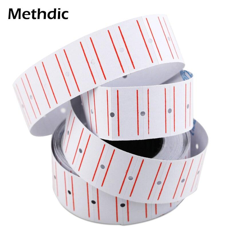 Methdic Custom Supermarket Price Price Label Tag 10rolls/Lot