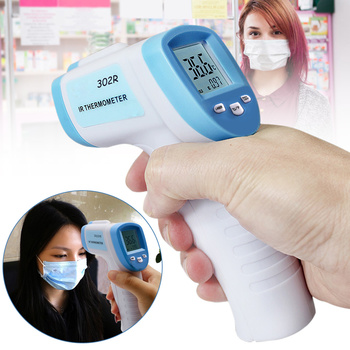 Handheld Infrared Thermometer Temperature Meter LCD Non-contact Forehead 32-42.9 C Measuring New HG99