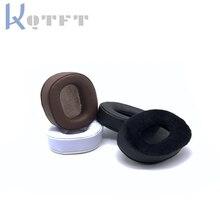 Earpads กำมะหยี่สำหรับ Panasonic RP HD10E RP HD10เปลี่ยนชุดหูฟัง Earmuff ฝาครอบถ้วยแขนหมอนซ่อมอะไหล่
