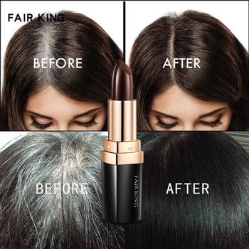One-Time Hair dye Instant Brown Root Coverage Hair Color Modify Cream Stick Temporary Cover Up White Hair Colour Dye Treatments
