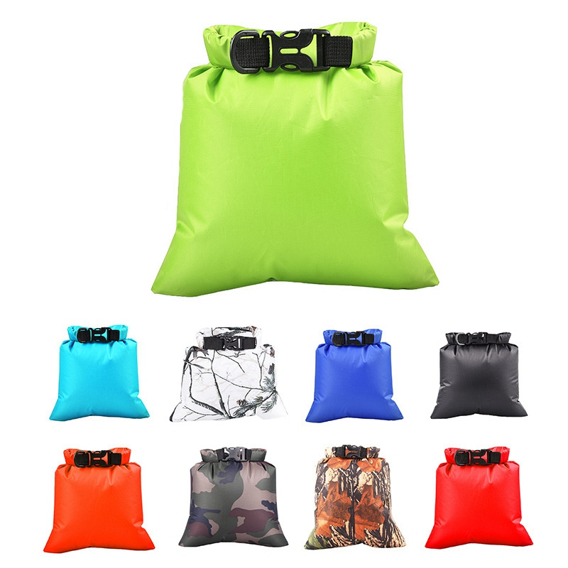 3L Outdoor Waterproof Bag Dry Bag Sack Backpack Floating Dry Gear Bags For Boating Fishing Rafting Swimming