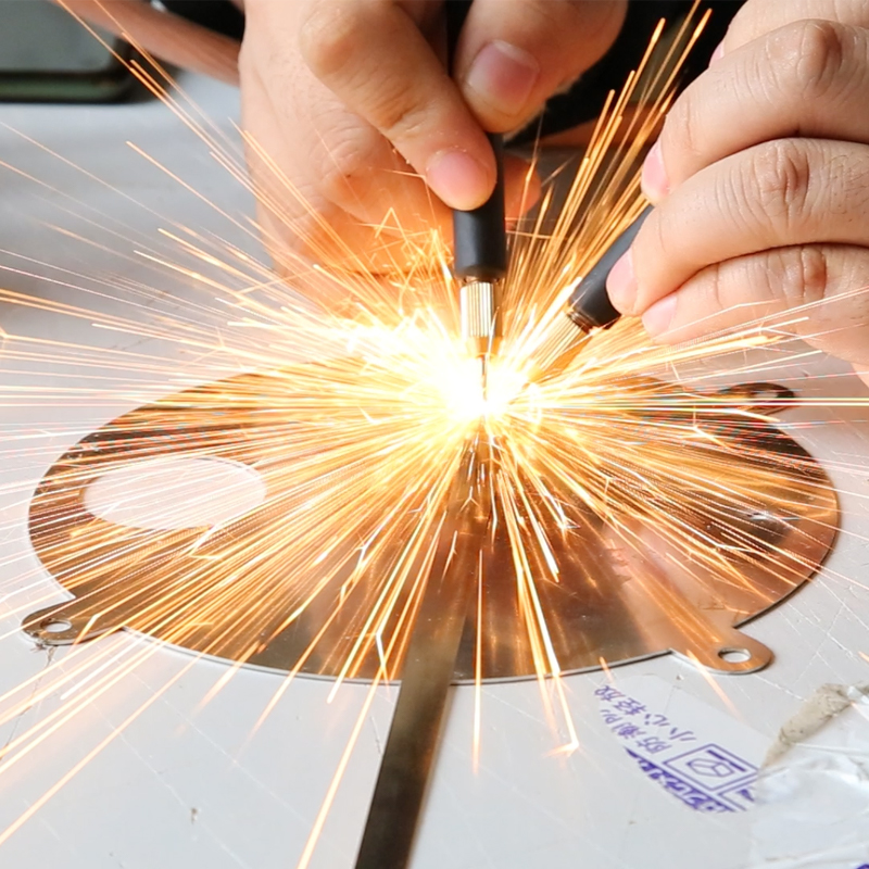 400A Pulse Spot Welder LED <font><b>0.25mm</b></font> Nickel Strip Connection Battery Pack DIY spot Welding Machine Welding <font><b>Pen</b></font> for 18650 Battery image