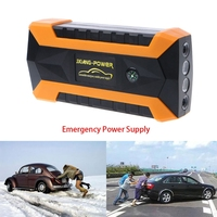 89800mAh 4 USB Tragbare Auto Starthilfe Booster Ladegerät Batterie Power Bank