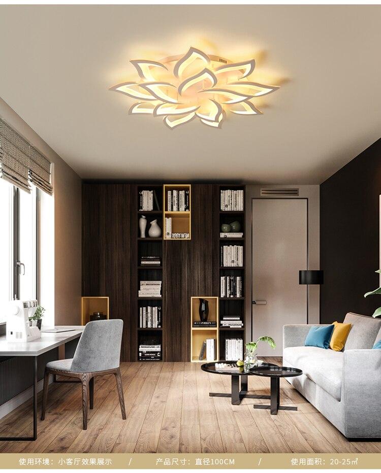 Led lustre moderno lustres de teto iluminação