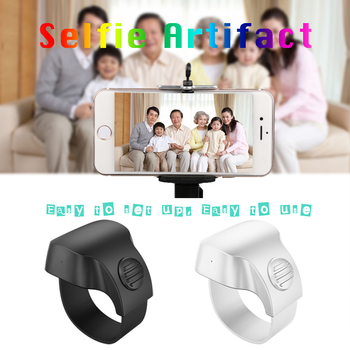 NEW Portable Rechargeable Bluetooth 5.1 Selfie Shutter Remote Control ring Wireless Smart remote Control Ring For IOS Android TV