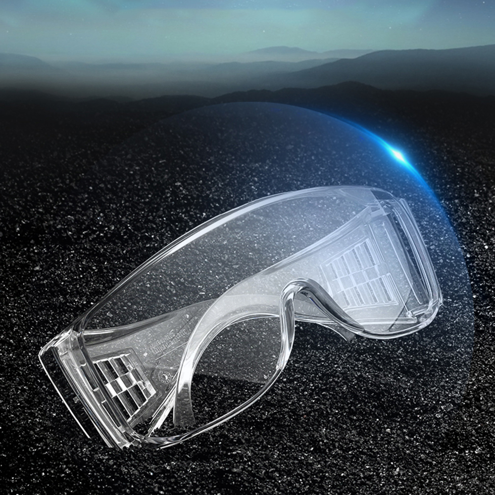 5-layer Lightweight Lens High Quality Prevent Droplets Virus Bacteria Anti-fog Dust Haze Goggle Prevent Chemicals Protect Eyes