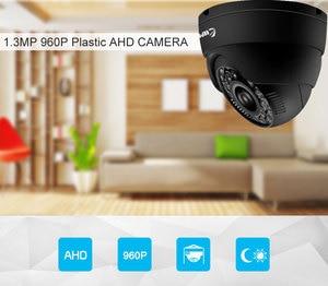 Image 3 - Keeper HD מיני כיפת AHD מצלמה 1.3MP בחדות גבוהה מעקב אינפרא אדום 960P אבטחת CCTV חיצוני כיפת מצלמה עמיד למים