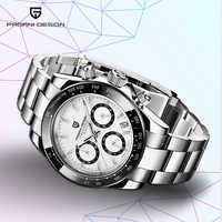 PAGANI DESIGN 2019 Neue männer Uhren Sport Quarz Uhr Männer Stahl Wasserdichte Uhr Männlichen Mode Chronograph Relogio Masculino