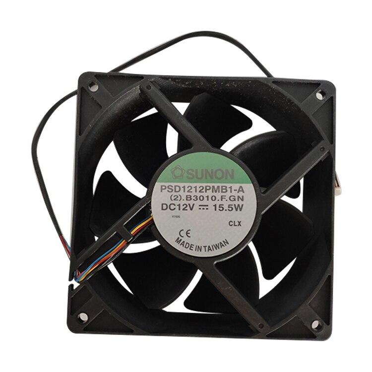 Original SUNON PSD1212PMB1-A 12V 24W 12CM Cooling Fan