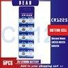5PCS CR1225 3V batteria a bottone al litio CR 1225 LM1225 BR1225 KCR1225 batterie a bottone per orologi Flash giocattoli telecomando