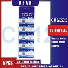 5PCS CR1225 3V Lithium Cell-münze Batterie CR 1225 LM1225 BR1225 KCR1225 Taste Batterien Für Uhren Flash spielzeug fernbedienung