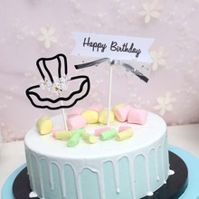 Cakesmile dress flags cake topper cupcake party for baking birthday decoration cake decorating tools baking accessories cakesmile pink deer cake topper cupcake party for baking birthday decoration cake decorating tools baking accessories