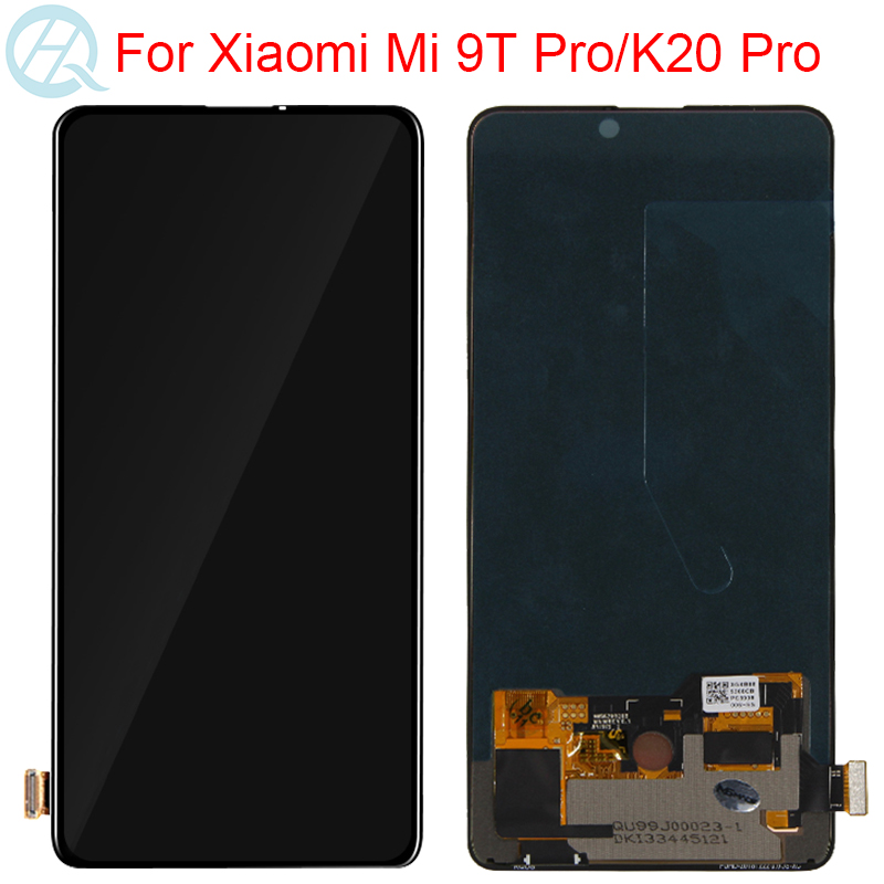 Original AMOLED For Xiaomi Mi 9T Pro LCD With Frame 6.39