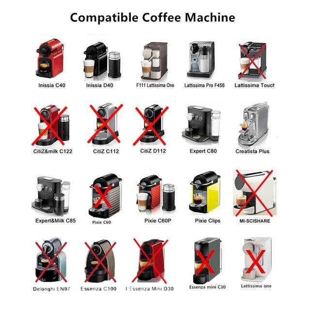 ICafilas Link Vip Per Nespresso Riutilizzabile Caffè Capsule Pod Espresso In Acciaio inossidabile filtri di Caffè e di Manomissione del Commercio All'ingrosso 2
