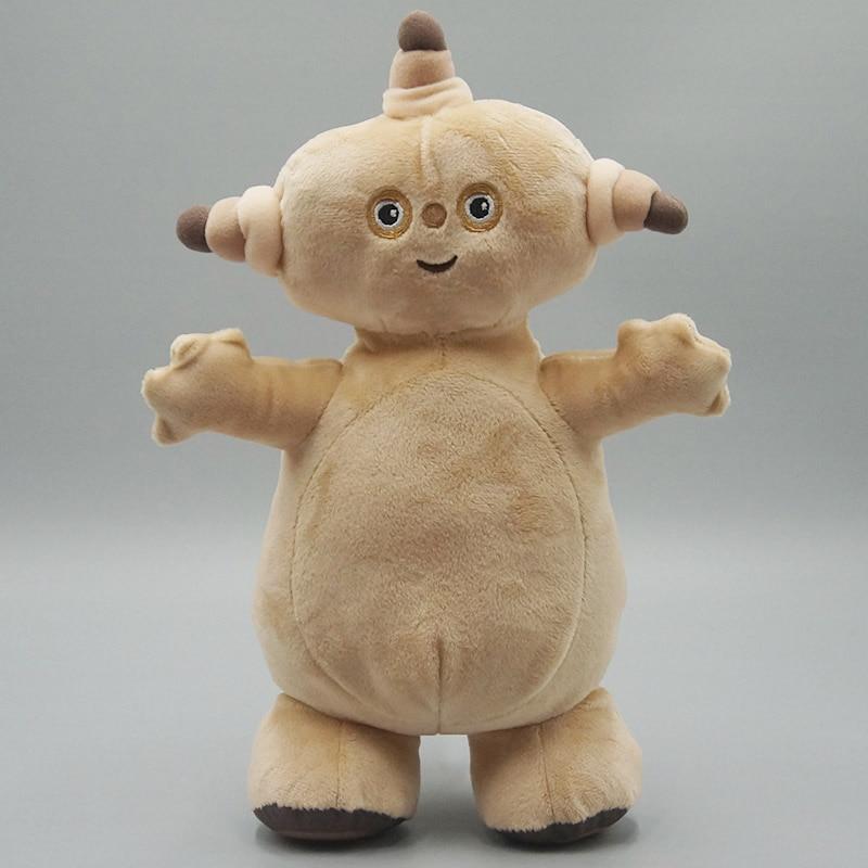 Детский Телевизор с героями мультфильмов в ночном саду, плюшевая игрушка Makka Pakka, мягкая кукла