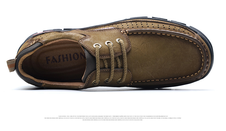 H99b3b724d73f45d68321b7e15d5b509cN 2019 New Men Shoes Genuine Leather Men Flats Loafers High Quality Outdoor Men Sneakers Male Casual Shoes Plus Size 48