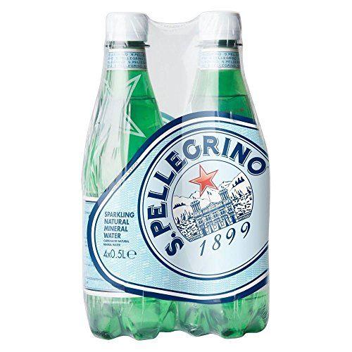 San Pellegrino Sparkling Natural Mineral Water (4x500ml) - Packung Mit 2