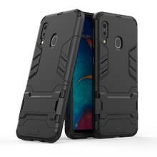 Armor Shockproof Case For Samsung Galaxy A20e 3D Shield PC+Silicone Phone Case Cover For Samsung Galaxy A20e Case Fundas Coque кружка rosanna princess mug