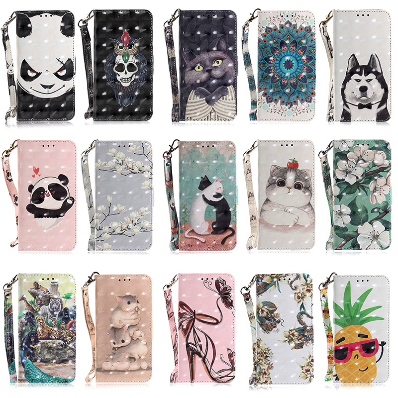 Купить с кэшбэком Leather mobile Case For Samsung Galaxy S20 Ultra S10 S7 Edge S7 Wallet Phone Cover Protective sFor Samsung S9 Plus S8 Plus Case