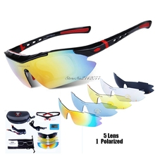 Professional Polarized Tactical Glasses Military Paintball Goggles Myopia Fishin
