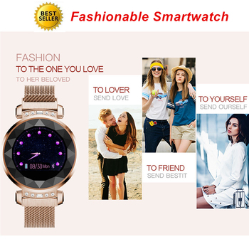 Bluetooth Smart Watch Woman Passometer Call Message Reminder Sleep Heart Rate Tracker Smartwatch Lady Available For Android IOS