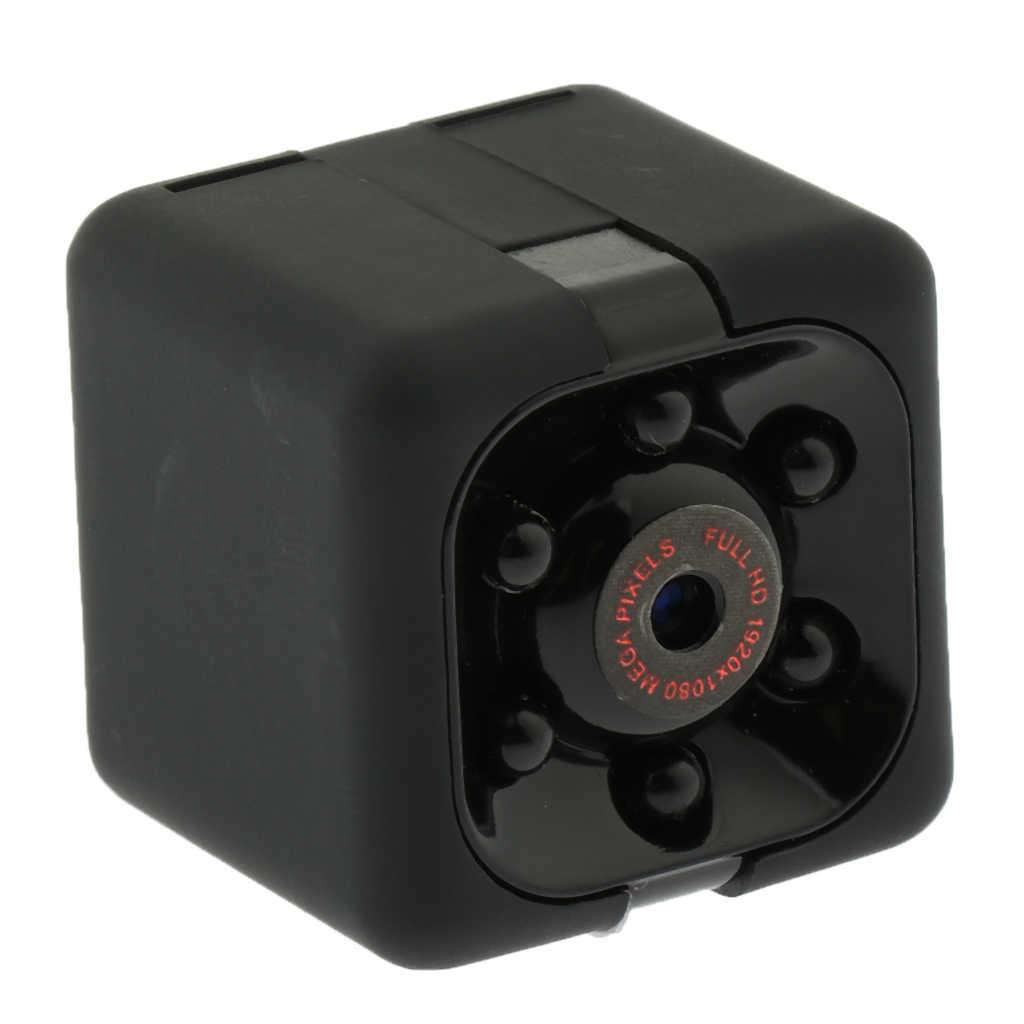 SQ11 Mini caméra de taille 1080P HD pour la conférence scolaire à domicile caméscope intérieur/extérieur Portable vue de tournage grand angle 140 degrés