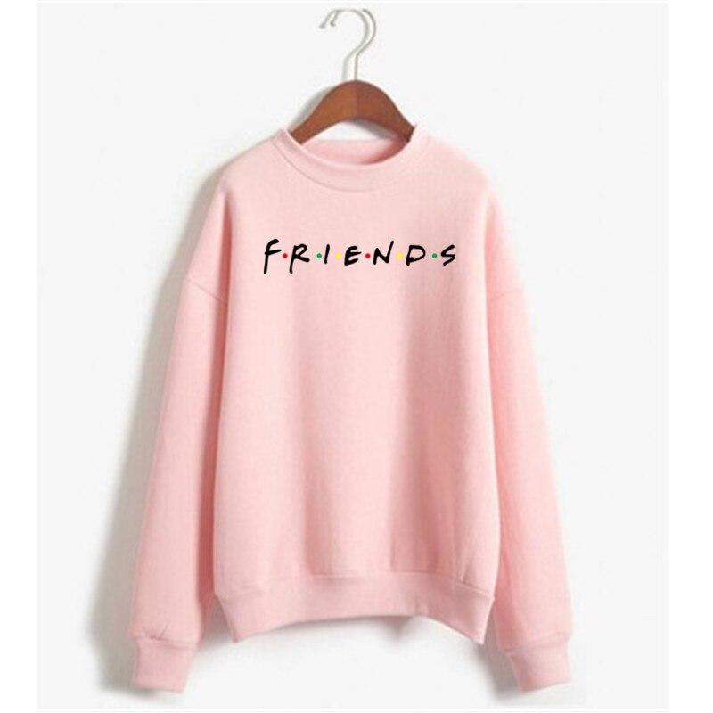 2020 Newst Friend Women's Sweatshirt Casual Warm Pullover Hoodie Female Jumper Long Sleeve Autumn Winter Sweatshirts