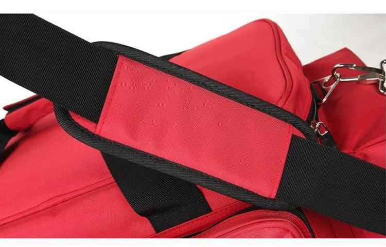 Outdoor First Aid Medical Bag Isolation Multi-pocket Large Storage Portable Cross Emergency Medical Bag Sports Travel Nylon Bag (12)
